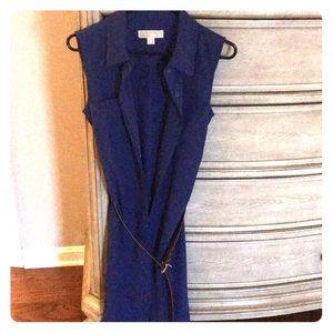 Michael Kors sleeveless belted dress size 4
